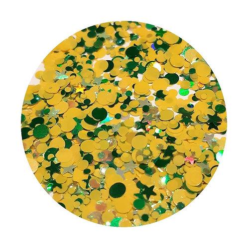 Citrus Splash Glitter Pot