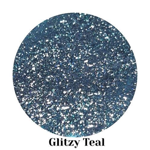 Glitzy Teal - The Glitz Collection Gel Polish 15ml