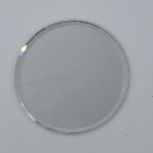 Silver Circle Nail Art Pallete