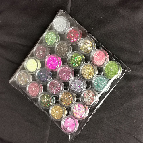 25 Glitters Pack  LUCKY DIP