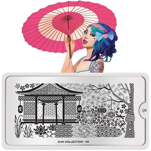 MoYou Stamping Plate - Suki 09