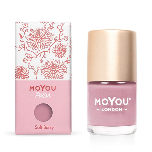 MoYou Premium Stamping Polish- Soft Berry
