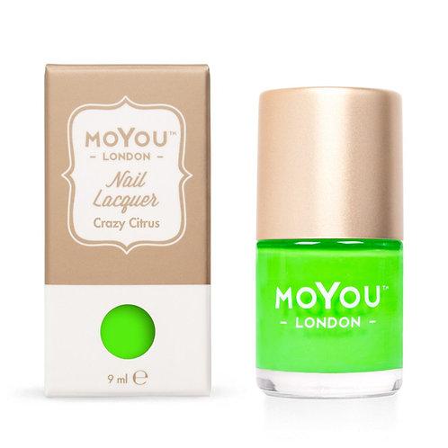 MoYou Premium Stamping Polish- Crazy Citrus
