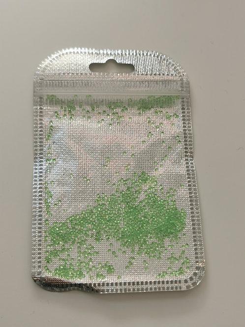 Neon Green Caviar Beads