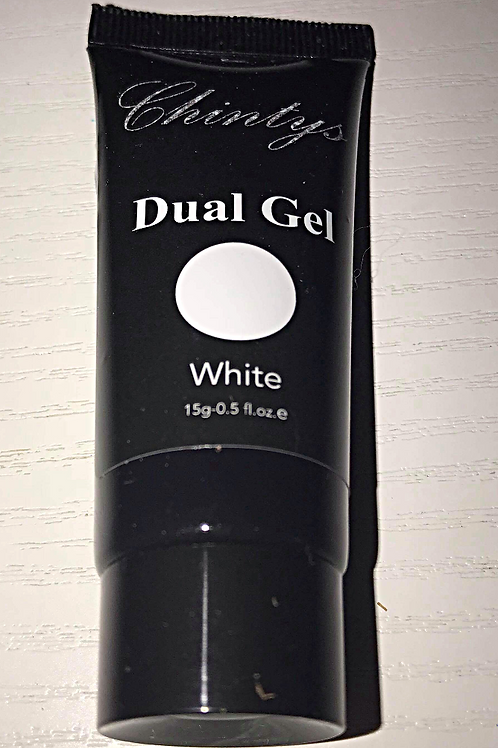 Dual Gel tube White 15g