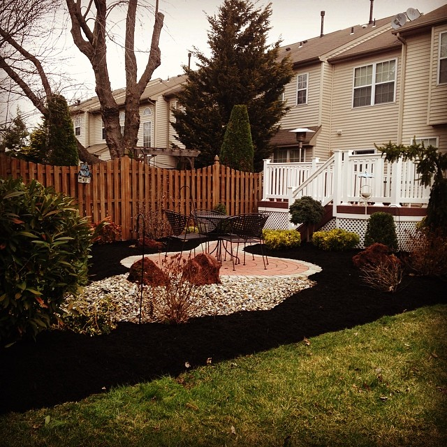 Feels great to have spring work back in full throttle #ATA _landscaping_equipment _landscapersnj