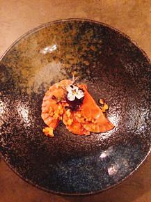 Rote Bete Ravioli | Cashew Zitronen Frischkäse | Orangen- Walnussbutter