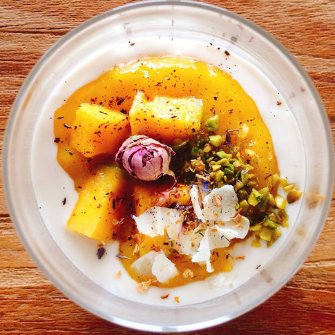 Tapiokapudding   Mango