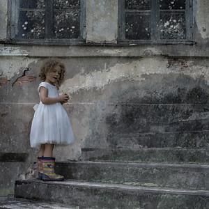 Lucija - a little girl in a big world
