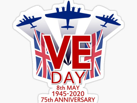 The School is closed today, Happy VE Day.