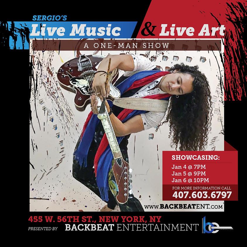 Sergio's Live Music and Live Art