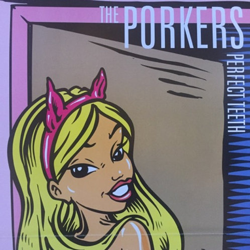 POSTER Porkers Perfect Teeth