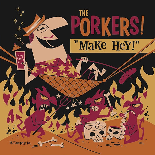 POSTER Porkers Make Hey ! Limited edition.