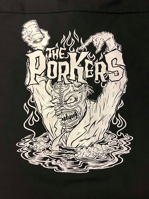 WORK SHIRT Porkers Enter Porkman