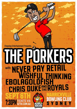 Porkers in Sydney !