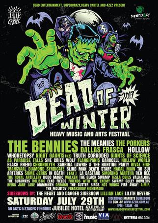 Brisbane ! July 29 ! Dead Of Winter !