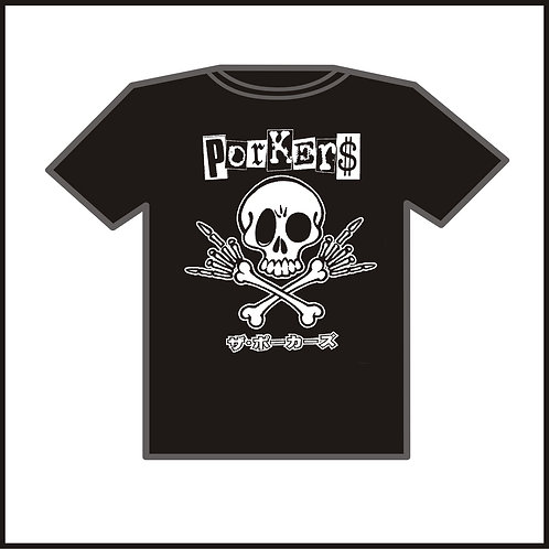 Kids T-SHIRT Porkers  'Rockin' Bones' Kids/youth