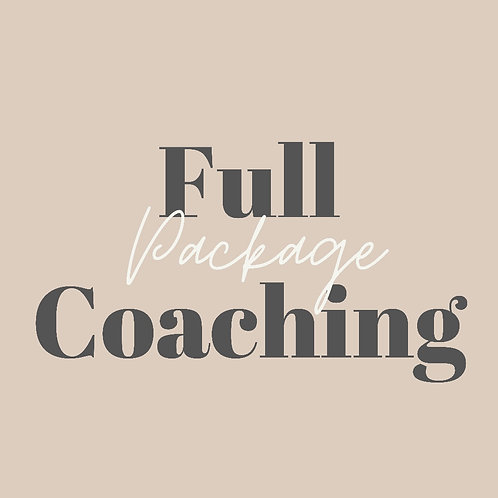 Let's GROW! Full Coaching Package
