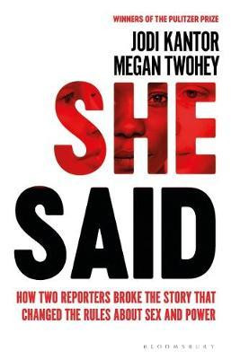 Image result for She Said Book Cover