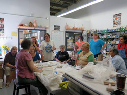 Coloured Clay Workshop