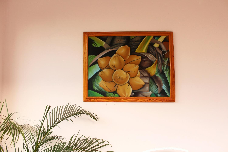 Haitian painting at Karibuni