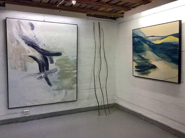 Sissel Aurland, separatutstilling i Rygge kunstforening 2017