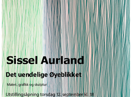 """""""Det uendelige Øyeblikket"""" separatutstilling i Vadsø Kunstforening"""