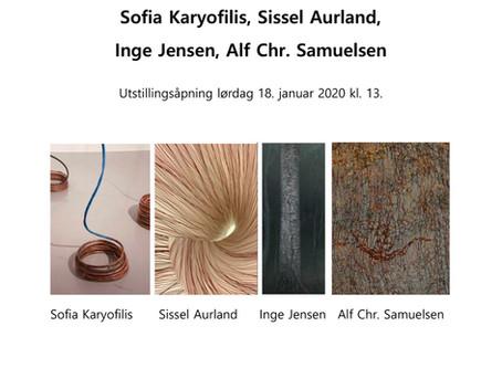 """""""RENNINGER"""", med; Sofia Karyofilis, Sissel Aurland, Inge Jensen og Alf Chr.Samuelsen"""