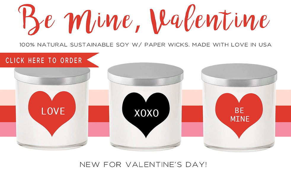 Wolfgang & Isabella, soy candles, Valentine' Day, gift