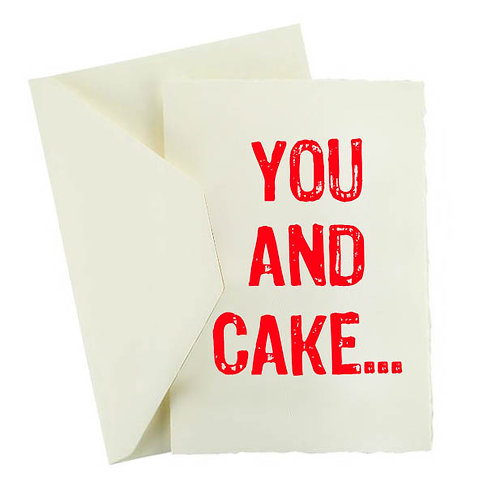 YOU AND CAKE