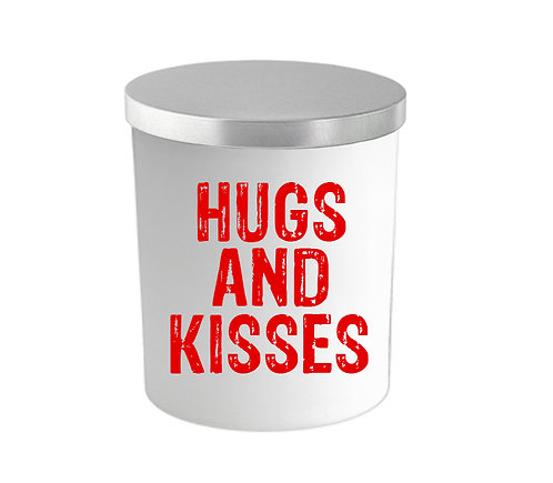 HUGS AND KISSES CANDLE
