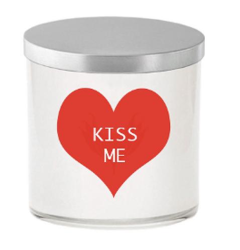 KISS ME CANDLE