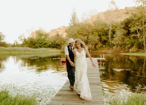 RUSTIC SUMMER WEDDING IN PILOT HILL CALIFORNIA