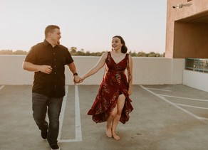 ROOFTOP ENGAGEMENT SESSION
