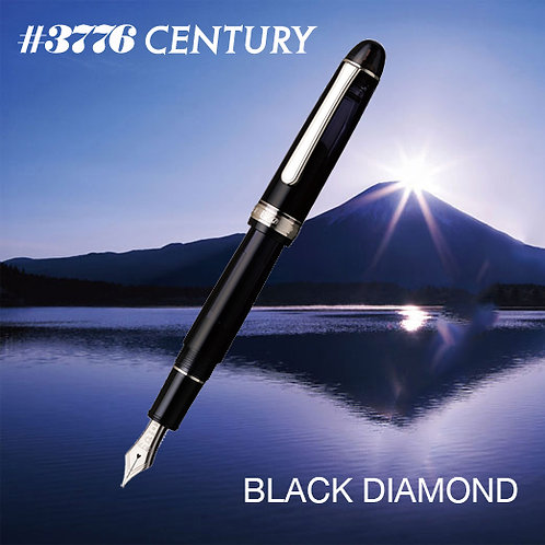 Platinum 3776 Century Black Diamond Fountain Pen