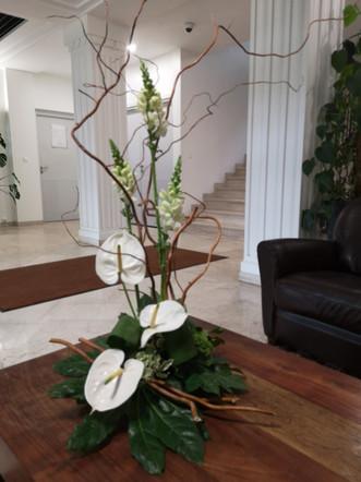 Bouquet d'accueil De Fleurs en Couleurs