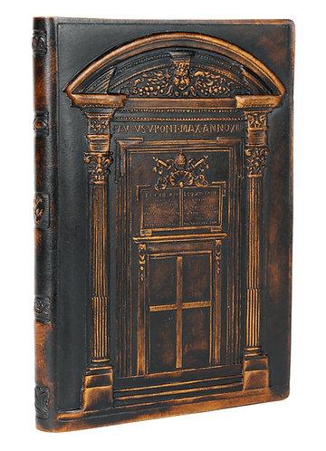 Vatican Door Italian Leather Journal