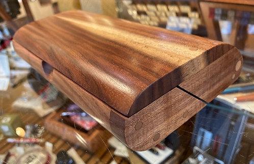 Lysiloma Wood Handcrafted 3 Pen Box