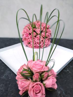 Bouquet vague de Fleurs en Couleurs
