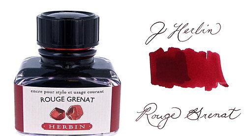 J. Herbin Bottle Ink Rouge Grenat