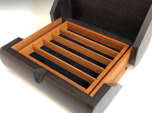 Wenge Wood 10-Pen Box