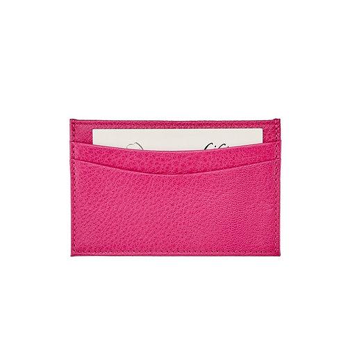 Slim Design Bright Leather Card Case