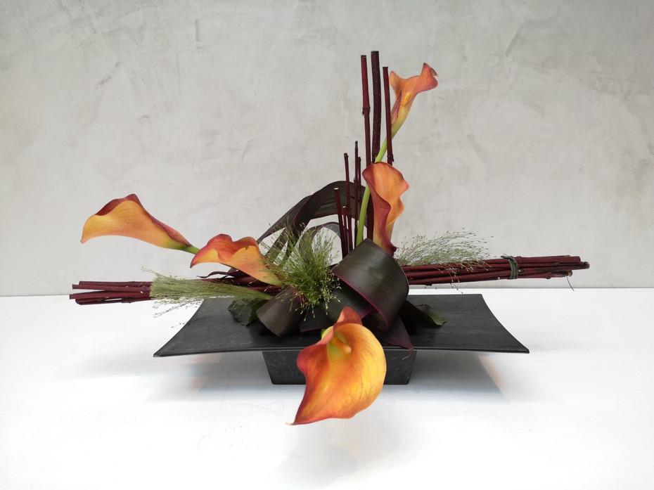 Bouquet moderne De fleurs en Couleurs