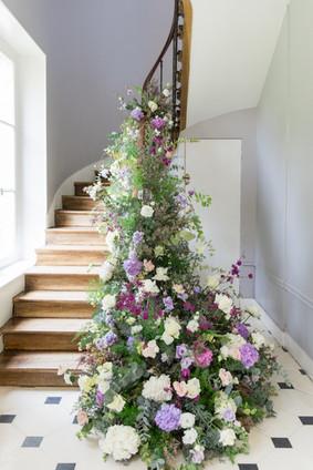 Escalier fleuri De Fleurs en Couleurs