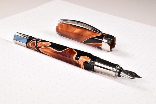 Visconti Vertigo Orange Fountain Pen in Fine