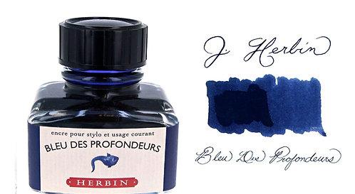 J. Herbin Bottle Ink Bleu Des Profondeurs