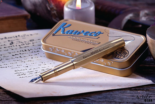 Kaweco Brass Sport Fountain