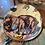 Thumbnail: Handmade Decoupage Glass & Copper Paperweight