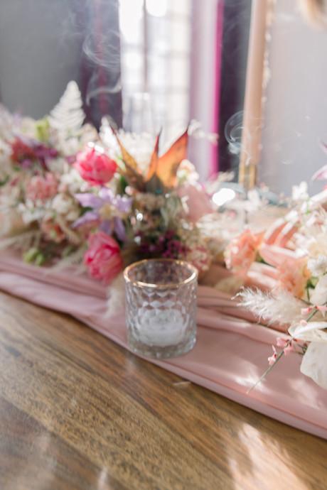 Centre de Table fleuri De Fleurs en Couleurs