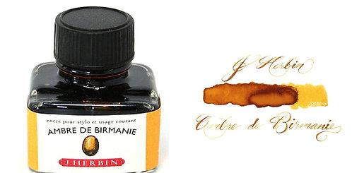 J. Herbin Bottled Ink Ambre De Birmanie